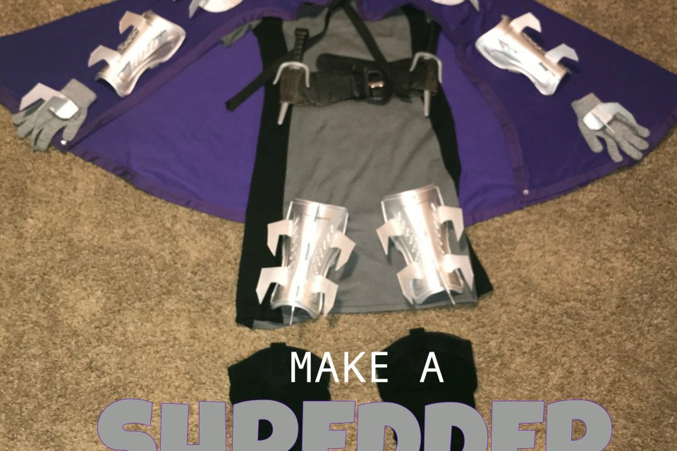 make a tmnt lady shredder costume for halloween 5 diy steps