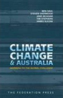 Climate Change and Australia book cover