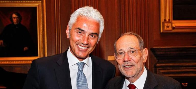 Haluk Dinçer and Javier Solana