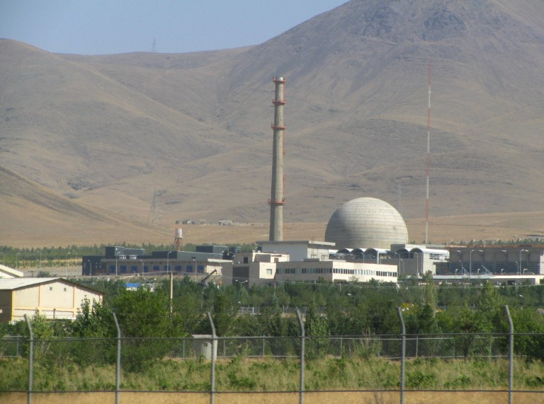 Wikimedia Commons/Nanking2012 - A photo of the Arak IR-40 heavy water reactor in Iran