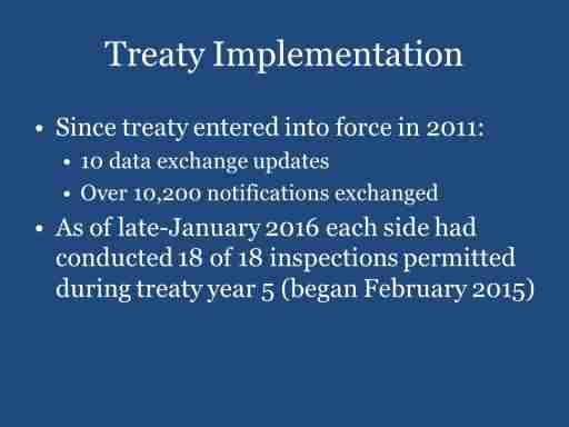 Treaty Implementation