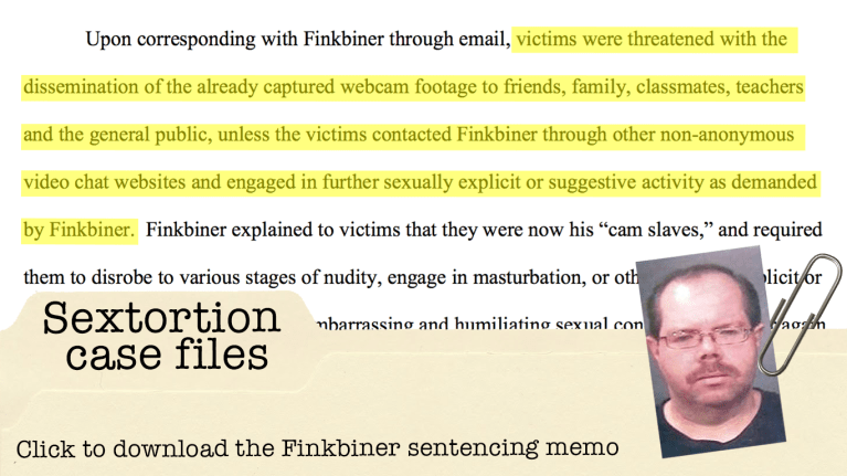 Finkbiner sentencing memo