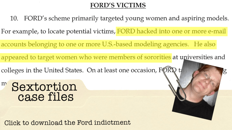 Ford indictment