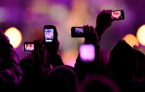 smartphone_concert