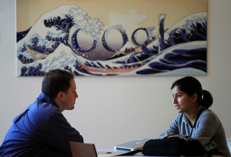 A meeting at Google