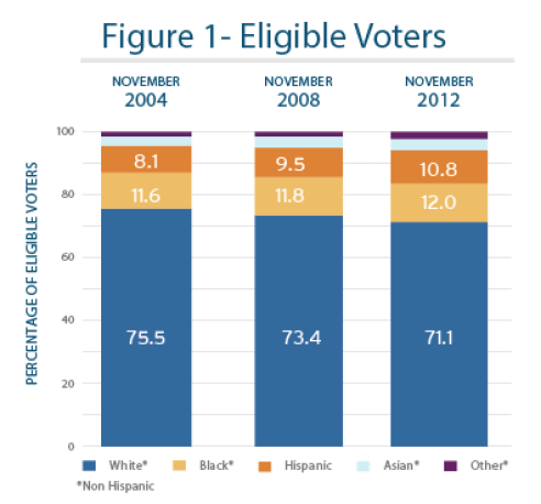 Image result for voting patterns by race and ethnicity