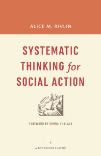 systematic thinking for social action cover
