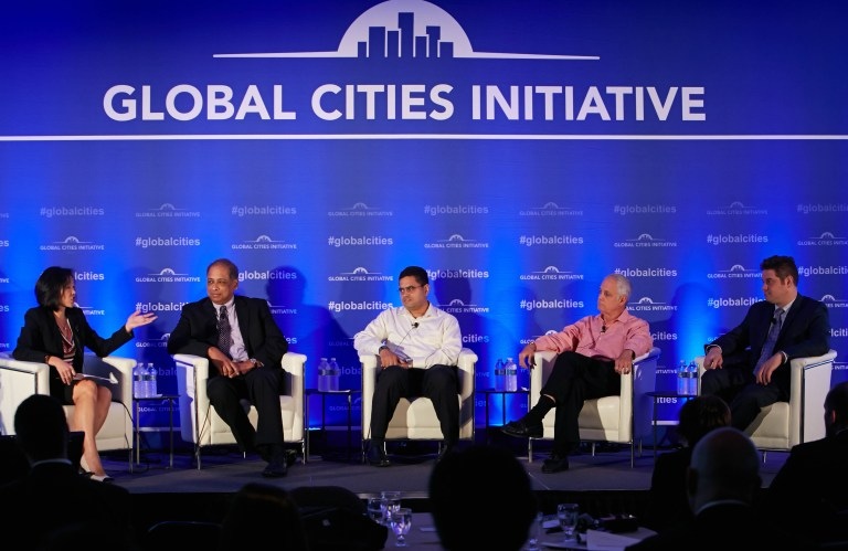 Global Cities Initiative event