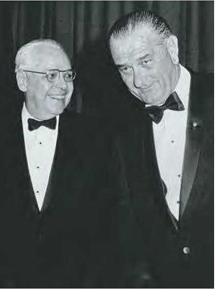 Robert Calkins, Lyndon Johnson