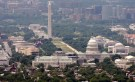 The skyline of Washington DC looking at the U.S. Capitol and the Mall, May 22, 2009. REUTERS/Larry Downing (UNITED STATES POLITICS CITYSCAPE) - RTXLKGE