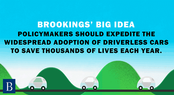 Policymakers should expedite the widespread adoption of driverless cars to save thousands of lives each year