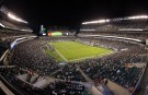 Sep 1, 2016; Philadelphia, PA, USA; General view of the stadium during the second half of a game between the Philadelphia Eagles and the New York Jets at Lincoln Financial Field. The Philadelphia Eagles won 14-6.