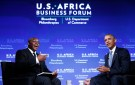Barack Obama answers questions from Takunda Ralph