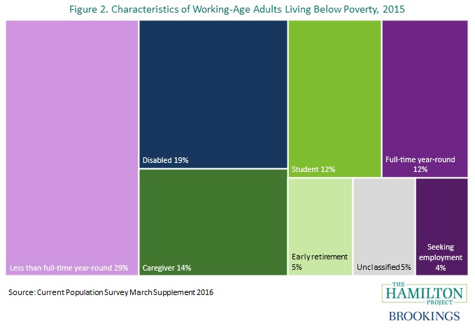 characteristics of working age adults below poverty line