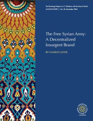 Free Syrian Army by Charles Lister
