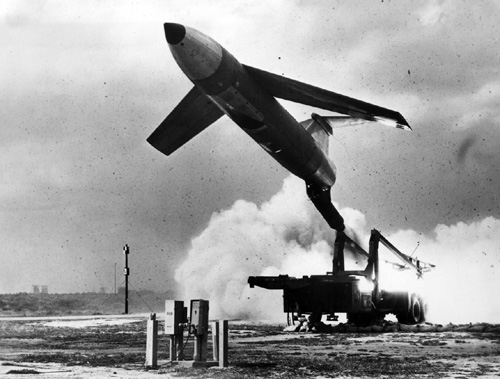 More than 1,000 Matador cruise missiles were produced and deployed between 1955 and 1961.