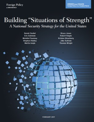 "Building ""situations of strength"": A national security strategy for the United States report cover"