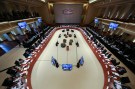A general view shows the G20 Finance Ministers and Central Bank Governors Meeting in Baden-Baden, Germany, March 17, 2017.   REUTERS/Kai Pfaffenbach - RTX31HIQ