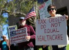 ACA repeal protest sign