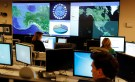 Department of Homeland Security workers at the National Cybersecurity and Communications Integration Center in Arlington