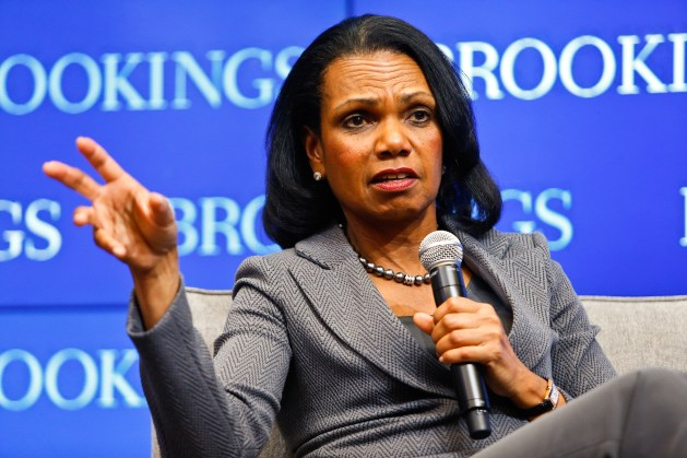 Condoleezza Rice: Democracy is easy to take for granted until something  breaks, and then it's too late