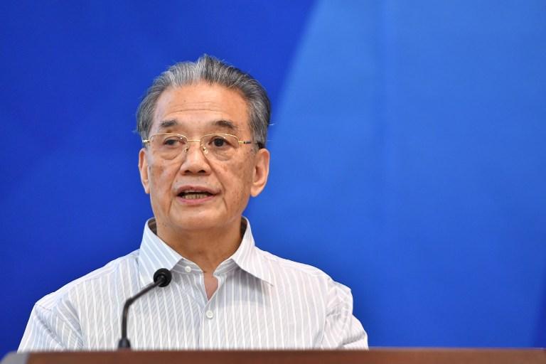 第十一届全国政协副主席李金华