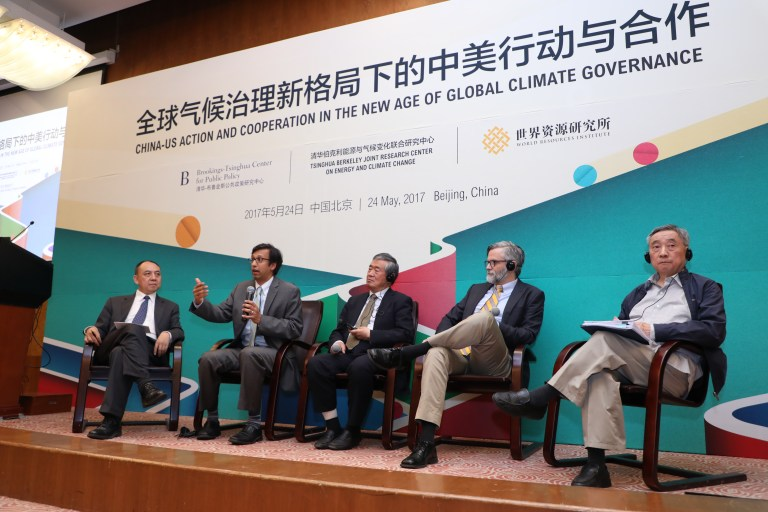 Above: Panel discussion