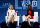 Virginia Rometty, President and CEO of IBM, is interviewed by Rebecca Blumenstein, Deputy Editor in Chief of The Wall Street Journal,  during the Wall Street Journal Digital Live (WSJDLive) conference at the Montage Laguna Beach, California October 20, 2015.      REUTERS/Mike Blake - RTS5AQZ