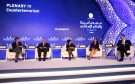 Panelists at the fourth plenary session at the US-Islamic World Forum.