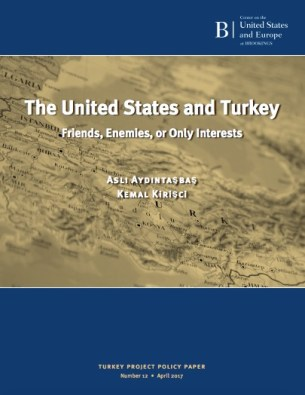 "The cover of ""The United States and Turkey: Friends, Enemies, or Only Interests"""