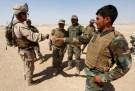 US Marines training Afghan National Army troops