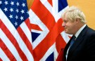 Britain's Foreign Secretary Boris Johnson arrives for a bilateral meeting with U.S. Secretary of State Rex Tillerson (unseen) during a NATO foreign ministers meeting at the Alliance headquarters in Brussels, Belgium, December 6, 2017. REUTERS/Virginia Mayo/Pool - RC1DEDF63850