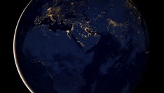 "A NASA Earth Observatory handout released December 5, 2012 of a composite image of Europe, Africa, and the Middle East at night, assembled from data acquired by the Suomi NPP satellite in April and October 2012. The image was made possible by the satellite's ""day-night band"" of the Visible Infrared Imaging Radiometer Suite (VIIRS), which detects light in a range of wavelengths from green to near-infrared and uses filtering techniques to observe dim signals such as city lights, gas flares, auroras, wildfires and reflected moonlight. REUTERS/NASA Earth Observatory/Handout (SCIENCE TECHNOLOGY ENVIRONMENT) FOR EDITORIAL USE ONLY. NOT FOR SALE FOR MARKETING OR ADVERTISING CAMPAIGNS. THIS IMAGE HAS BEEN SUPPLIED BY A THIRD PARTY. IT IS DISTRIBUTED, EXACTLY AS RECEIVED BY REUTERS, AS A SERVICE TO CLIENTS - GF2E8C51UIA01"