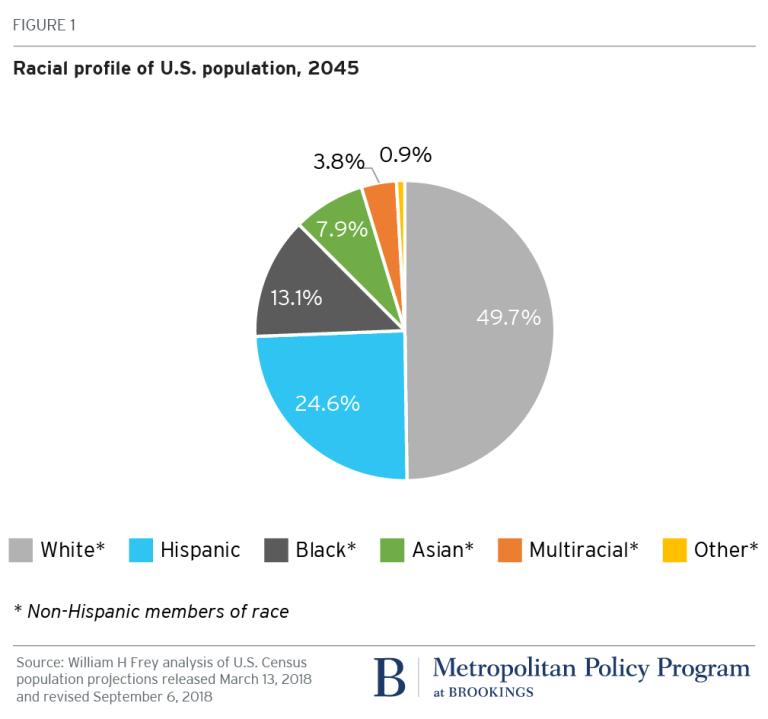 Racial profile of U.S. population, 2045 - Brookings