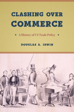 Book cover: Clashing Over Commerce