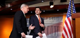 Speaker of the House Paul Ryan and Kevin McCarthy.