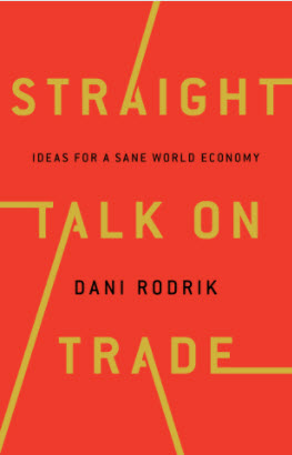 Book cover: Straight Talk on Trade