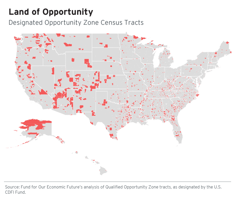 Map: Land of opportunity