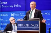 Larry Summers speaks about why the Federal Reserve should ditch the 2 percent inflation target at the Brookings Institution.
