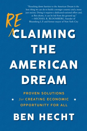 """Reclaiming the American Dream"" cover."