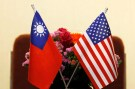 Flags of Taiwan and U.S. are placed for a meeting between U.S. House Foreign Affairs Committee Chairman Ed Royce speaks and with Su Chia-chyuan, President of the Legislative Yuan in Taipei, Taiwan March 27, 2018. REUTERS/Tyrone Siu