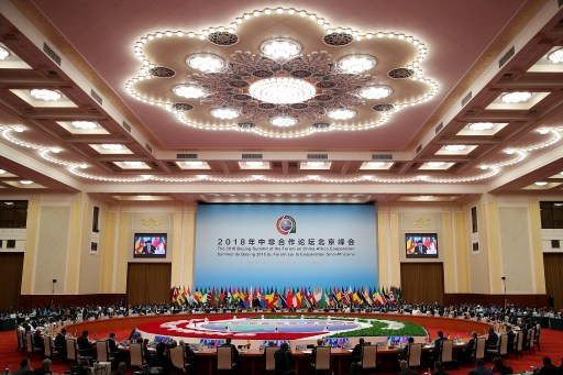 Chinese President Xi Jinping speaks during the 2018 Beijing Summit Of The Forum On China-Africa Cooperation - Round Table Conference at the Great Hall of the People in Beijing, China September 4, 2018. Lintao Zhang/Pool via REUTERS - RC1696DECD60