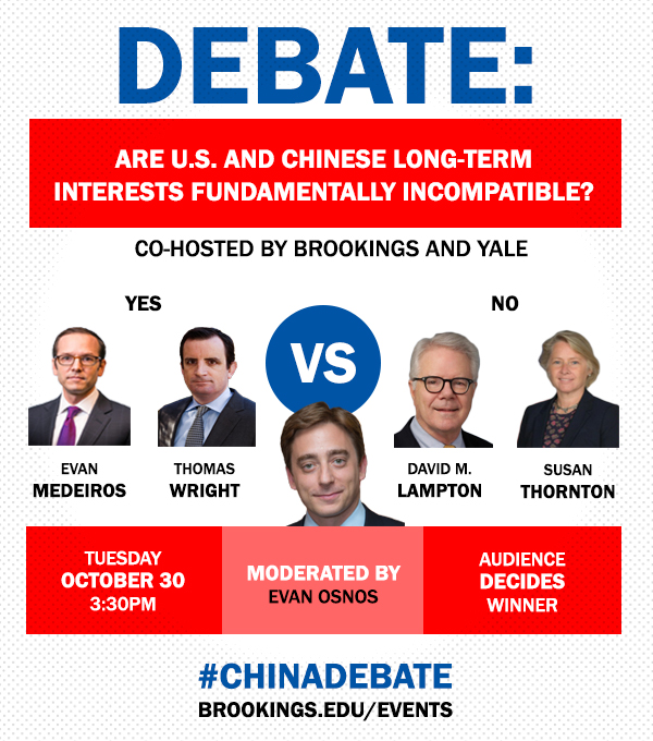 The China debate: Are U.S. and Chinese long-term interests fundamentally incompatible?