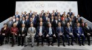 G-20 finance ministers and central banks governors pose for a family photo during the IMF/World Bank spring meeting in Washington, U.S., April 20, 2018. REUTERS/Yuri Gripas - RC1BD2582DA0