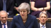Britain's Prime Minister Theresa May speaks at Prime Minister's Questions in the House of Commons, London, Britain, December 12, 2018. Parliament TV handout via REUTERS FOR EDITORIAL USE ONLY. NOT FOR SALE FOR MARKETING OR ADVERTISING CAMPAIGNS - RC11380B1830