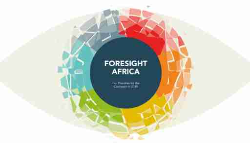 Foresight Africa 2019 site banner