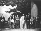 Photograph of the Center Section of the Mural, The Constitution, by Barry Faulkner, 10/27/1936 (US National Archives)
