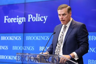 Assistant Secretary of Defense for Strategy, Plans, and Capabilities James Anderson at Brookings.