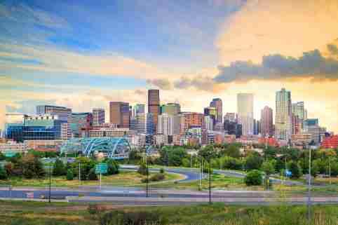 Denver Skyline for Metro Monitor 2019