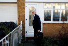 Jeremy Corbyn, leader of the Labour Party, leaves his home in London, Britain, February 26, 2019. REUTERS/Peter Nicholls - RC1AD4B28A90